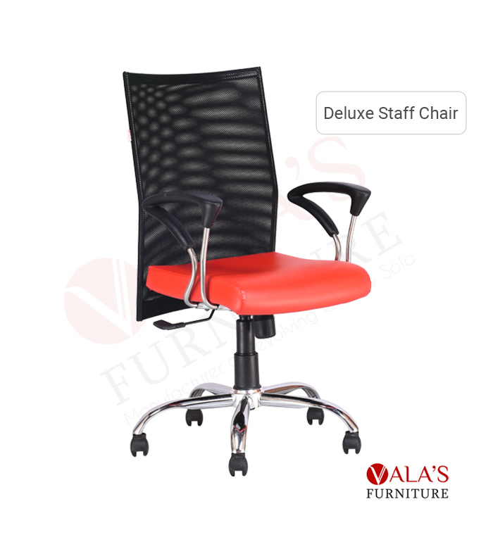 V-2013 Deluxe staff chair in ahmedabad